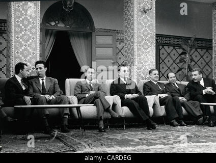 Mar. 26, 1962 - Rabat, Algeria - BEN BALLA was the founder of the 'Front de Liberation Nationale' and was arrested - Stock Photo