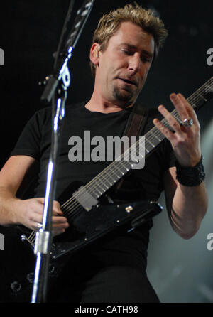 Apr 19, 2012  New York New York USA CHAD KROEGER and NICKELBACK performing live in concert at Madison Square Garden - Stock Photo