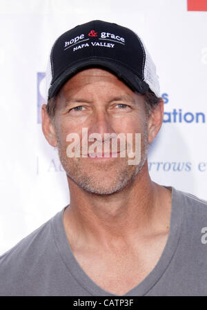 April 21, 2012 - Universal City, California, U.S. - JAMES DENTON arrives for a Block Party benefiting Cystic Fibrosis - Stock Photo