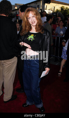 July 9, 1998 - Hollywood, California, U.S. - K12803LR.KATHY GRIFFIN.''There's Something About Mary'' Premiere, L.A., - Stock Photo