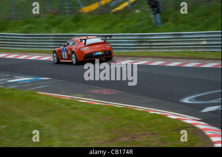 Jurgen Stumpf (GER) / Robert Thomson (AUS) / Mal Rose (AUS) driving the #85 SP8 Aston Martin Test Centre Aston Martin - Stock Photo