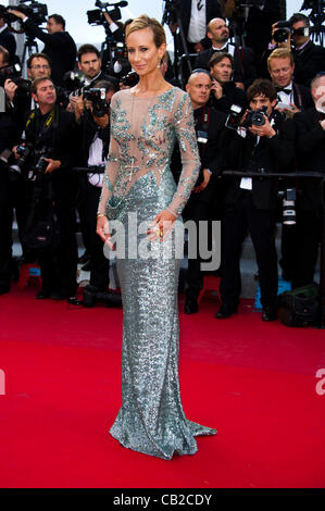 Victoria Hervey (model) at red carpet arrivals for film 'On The Road' 65th Cannes Film Festival 2012 Palais des - Stock Photo