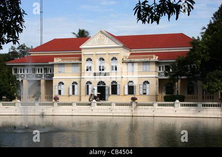 Bang Pa-In Royal Palace (Summer Palace), Ayutthaya Province, Thailand - Stock Photo