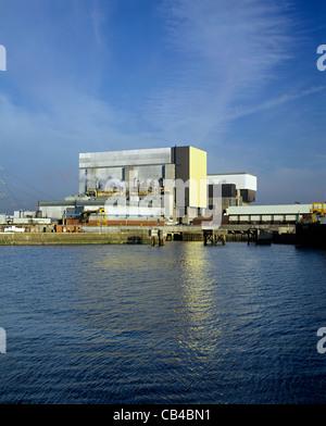 Heysham 1 & 2 nuclear power stations, Heysham, Lancashire. - Stock Photo