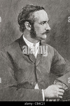 Frederick VIII, aged 30, 1843 – 1912. King of Denmark. - Stock Photo