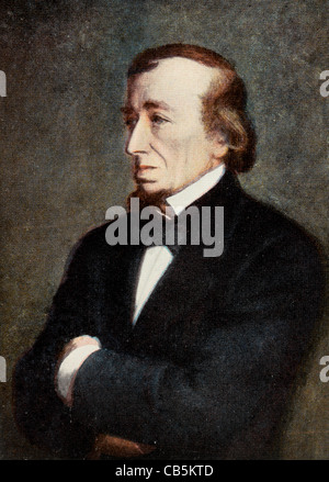 Portrait Of Benjamin Disraeli First Earl Of Beaconsfield 1804-1881 Eminent Statesman And Author First Returned To - Stock Photo