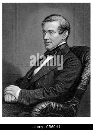 Sir Charles Wheatstone 1802 1875 English scientist inventor Victorian era science Spectroscopy Telegraph Velocity - Stock Photo