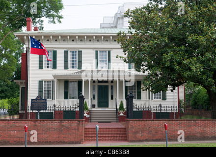 Alabama, Montgomery, First White House of the Confederacy, residence of Jefferson Davis