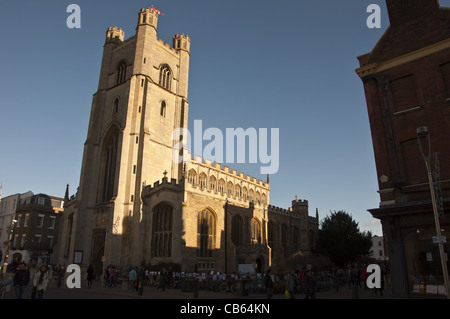 Great St Mary's Church Cambridge England UK - Stock Photo