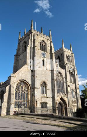 St. Margarets Church, Kings Lynn, Norfolk, England, UK. Founded 1101. Partially rebuilt 1741 - Stock Photo