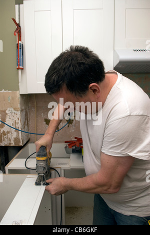 how to cut a worktop with a jigsaw