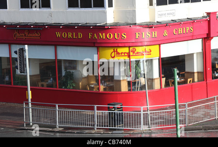 Harry Ramsden's World famous Fish and Chips restaurant in Brighton.  Pictur by James Boardman. - Stock Photo