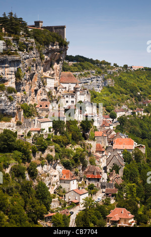 Rocadamour, Lot, France, Europe - Stock Photo