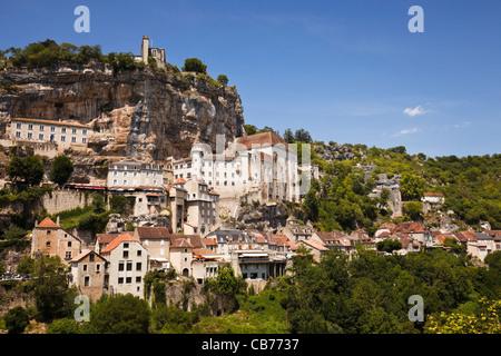 Rocamadour, Lot, France, Europe - Stock Photo