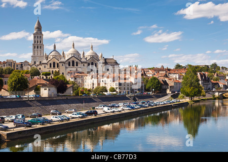Perigueux Cathedral St Front, Dordogne, Aquitaine, France, Europe - Stock Photo