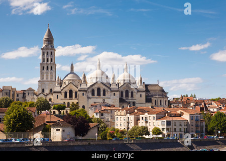 Dordogne - Perigueux Cathedral, St Front, Dordogne, Aquitaine, France - Stock Photo