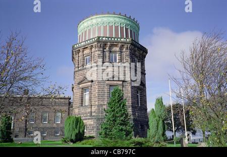 Royal Observatory on Blackford Hill, Edinburgh, Scotland, UK - Stock Photo