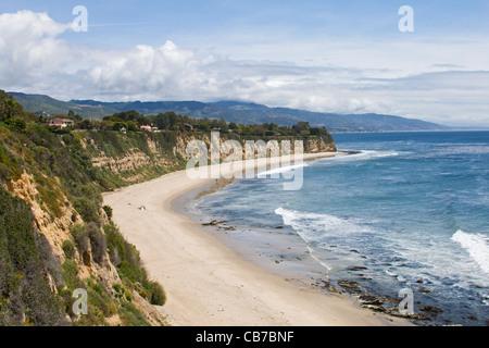 Point Dume, Malibu, California, USA - Stock Photo