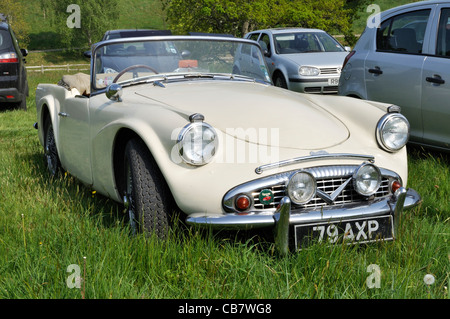 Daimler Dart SP250 sports car pictured at Chideock Manor, Dorset. - Stock Photo