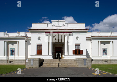 Cape Town: Company's Garden - South African National Gallery ext. - Stock Photo