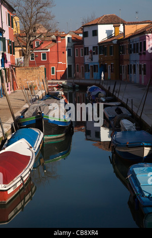 Burano, Italy - Stock Photo