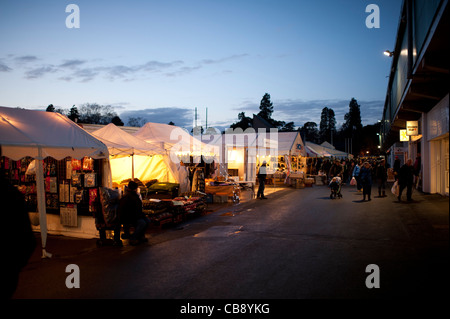 the Winter Fair at the Royal Welsh Showground, Builth Wells, Powys Wales UK - Stock Photo