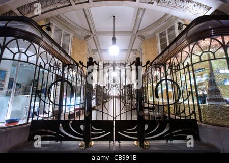 The Burlington Arcade, London, UK - Stock Photo