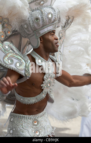2011 Notting Hill Carnival, London,England - Stock Photo