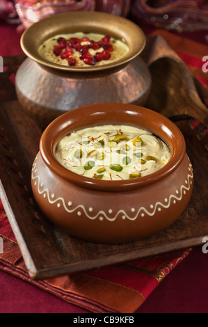 Shrikhand. Indian dessert - Stock Photo