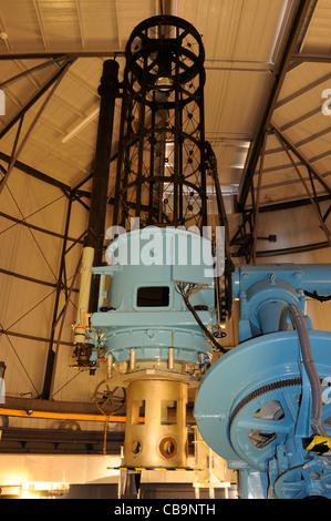 The Grubb-Parsons 36' reflecting telescope at the Royal Observatory Edinburgh - Stock Photo