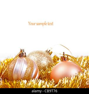 Christmas card design. - Stock Photo