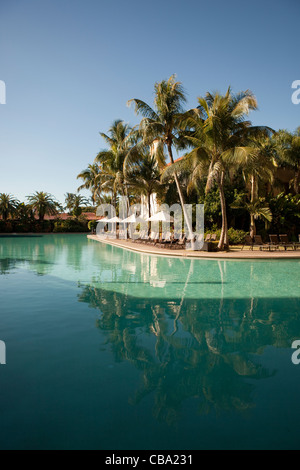 Pool view at the Biltmore Hotel in Miami - Stock Photo