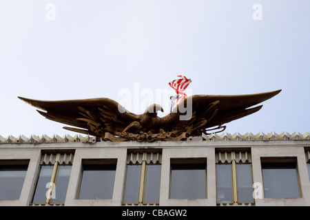 The American Embassy in London - Stock Photo