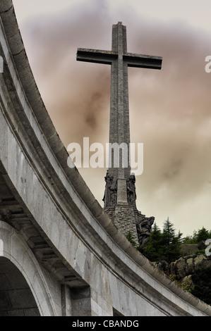 Valley of the Fallen (Valle de los Caidos) - Stock Photo
