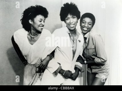 POINTER SISTERS promotional photo of US vocal trio - Stock Photo
