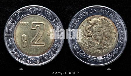 5 Pesos Coin Mexico 1998 Stock Photo 41446525 Alamy