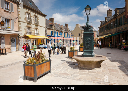 Concarneau, Finistere, Brittany, France - Stock Photo