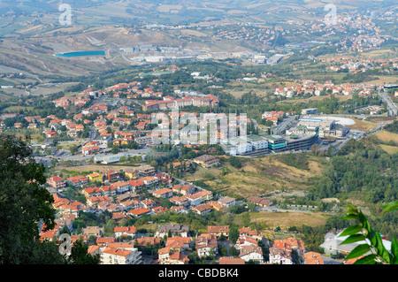 View From San Marino - Stock Photo