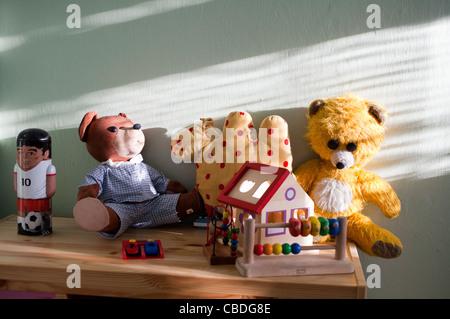 Kid stuff in children's room. (CTK Photobank/Martin Sterba) - Stock Photo
