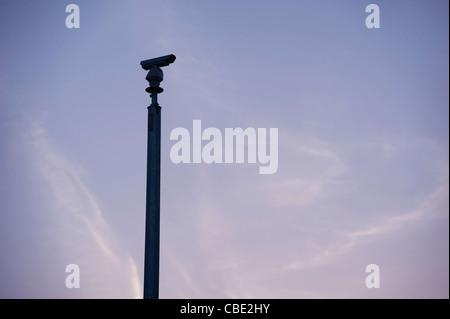 CCTV traffic monitoring camera - Stock Photo