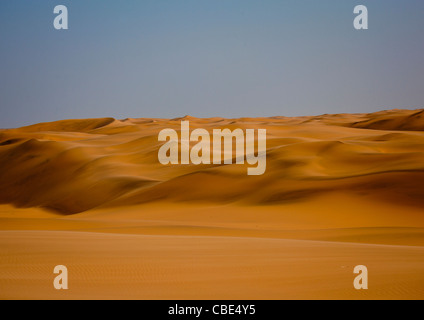 Sand Dunes In The Namib Desert, Iona National Park, Angola - Stock Photo