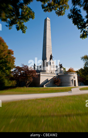 Lincoln's Tomb in Springfield, Illinois.