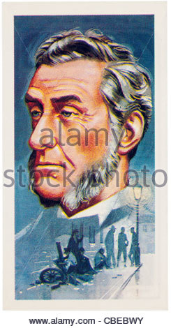 Lord Shaftesbury 1801-1885 was a reformer and politician. EDITORIAL ONLY - Stock Photo