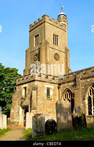 Saint Nicolas village English church in Sevenoaks - Stock Photo