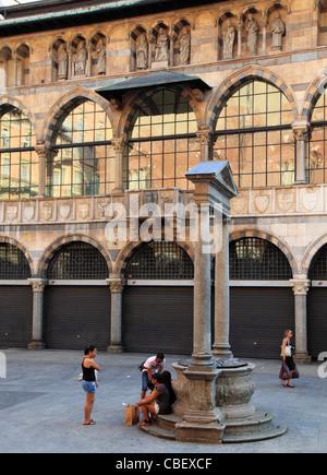 Italy, Lombardy, Milan, Palazzo della Ragione, palace, - Stock Photo