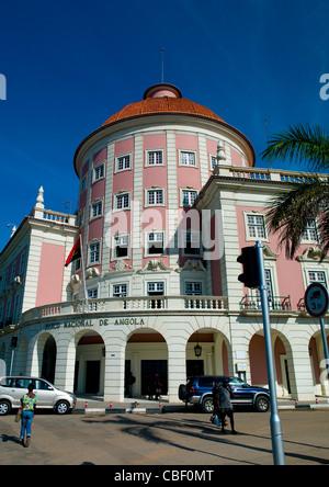 Banco Nacional De Angola, Luanda, Angola - Stock Photo