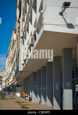 Flats In Luanda, Angola - Stock Photo