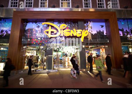 disney store oxford street st london england uk united kingdom - Stock Photo
