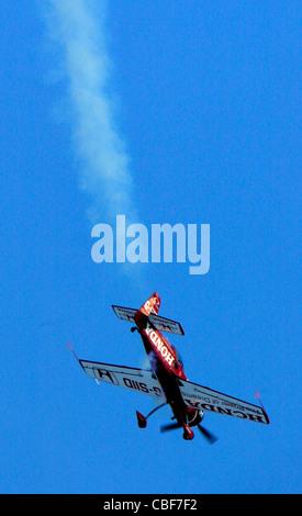 Stunt Plane - Stock Photo