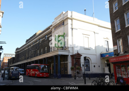 the theatre royal drury lane showing shrek in theatreland west end london england uk united kingdom - Stock Photo